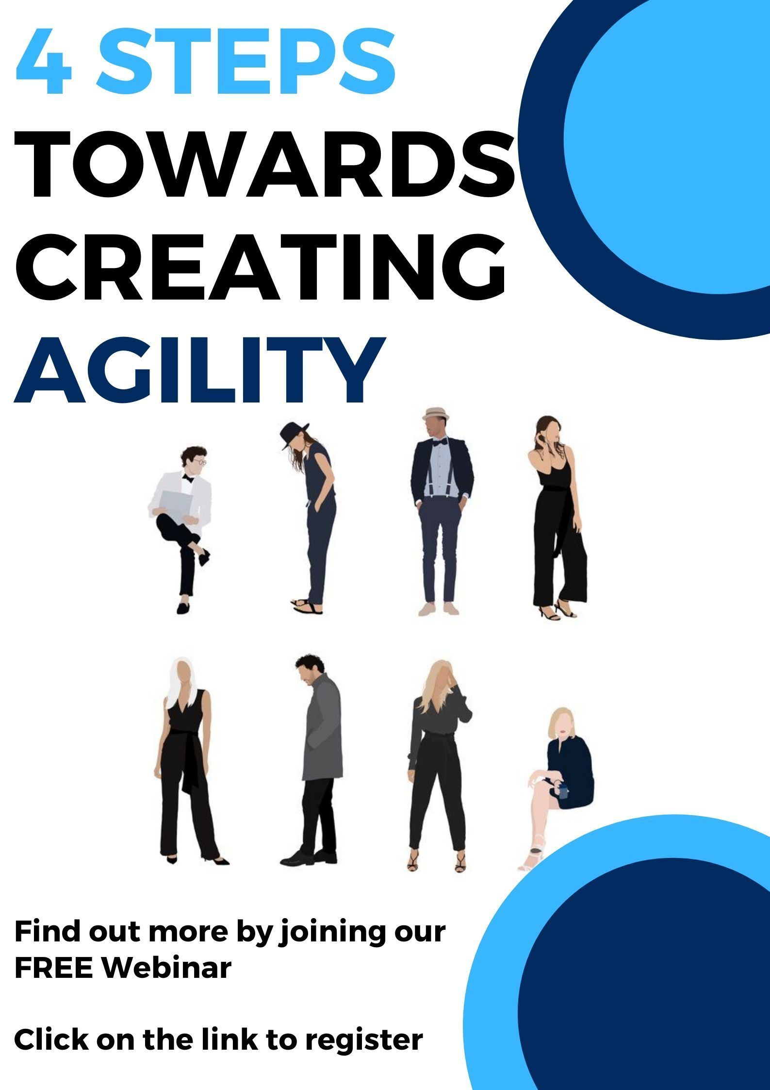 4 Steps towards creating Agility in 2020 Webinar, Free