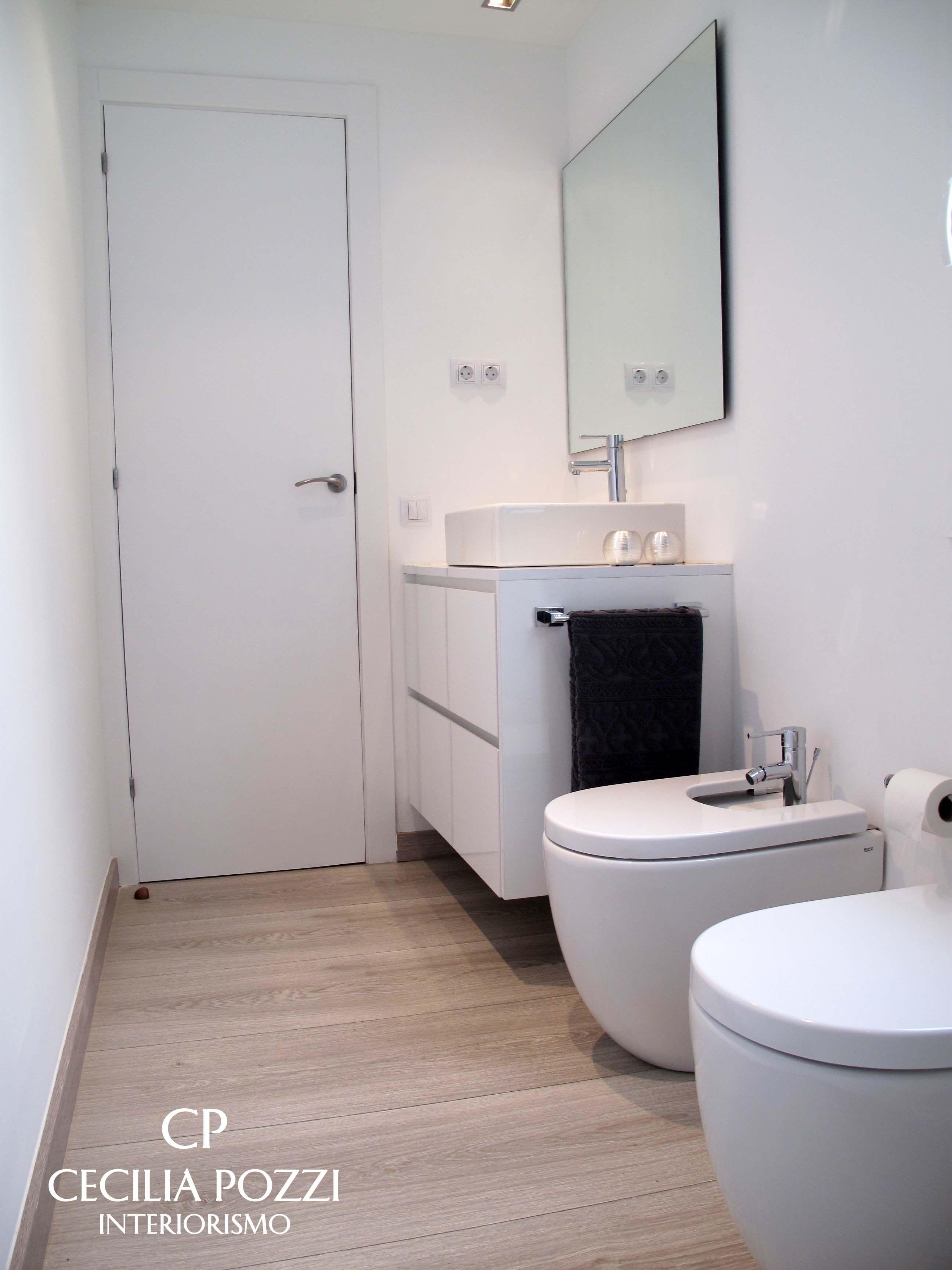 Bathroom. Baño. Cecilia Pozzi Interiorismo. Interiorista Barcelona ...