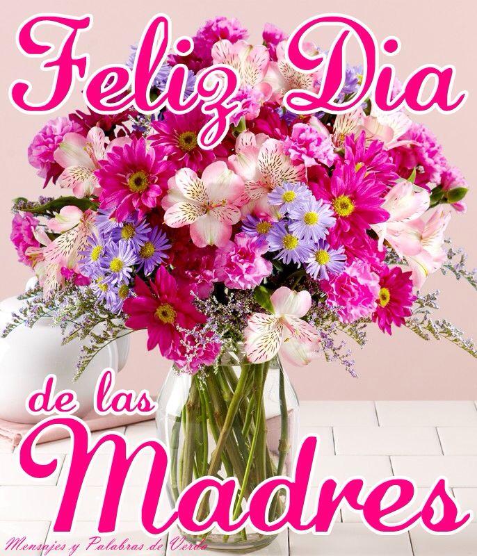 Feliz Dia De Las Madres Entrega De Flores Flores Del Dia De La