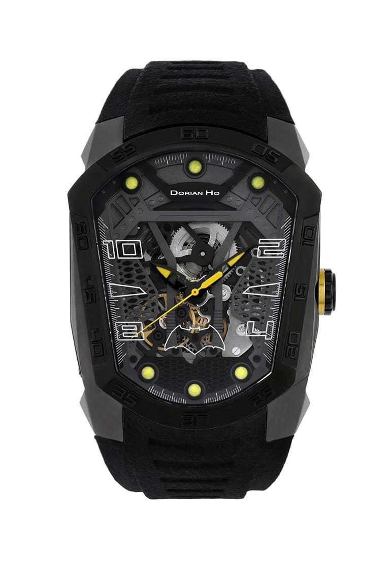 Batman Justice League X Dorian Ho Limited Edition Phantoms Tourbillon Luxury Watches For Men Justice League Skeleton Movement