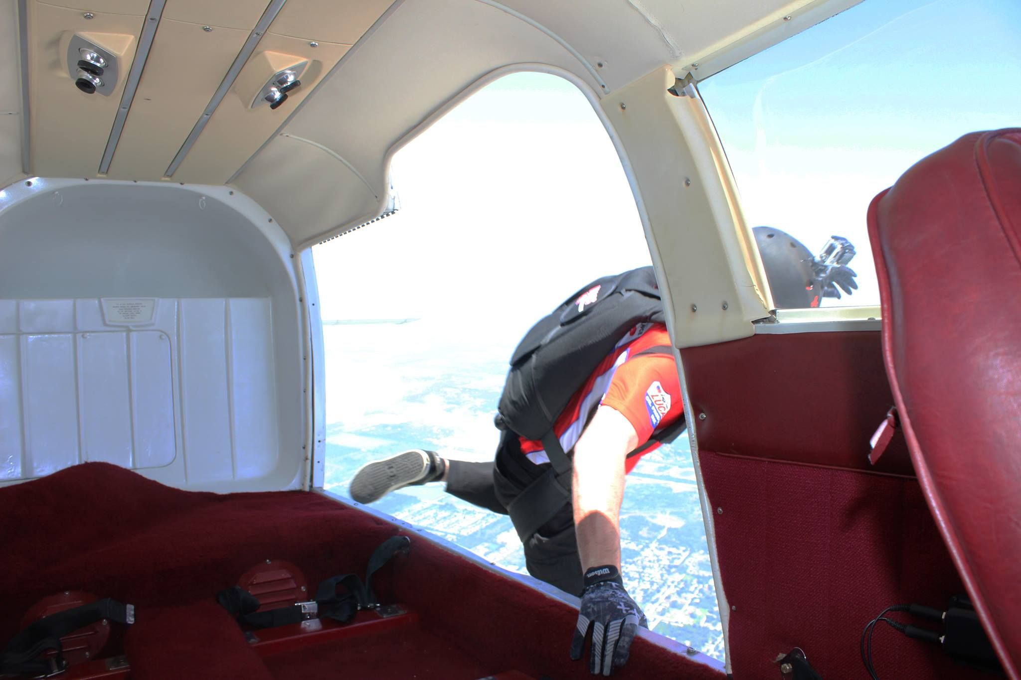 Practice Jump for the Vero Beach Air Show with the TC Chronicle!