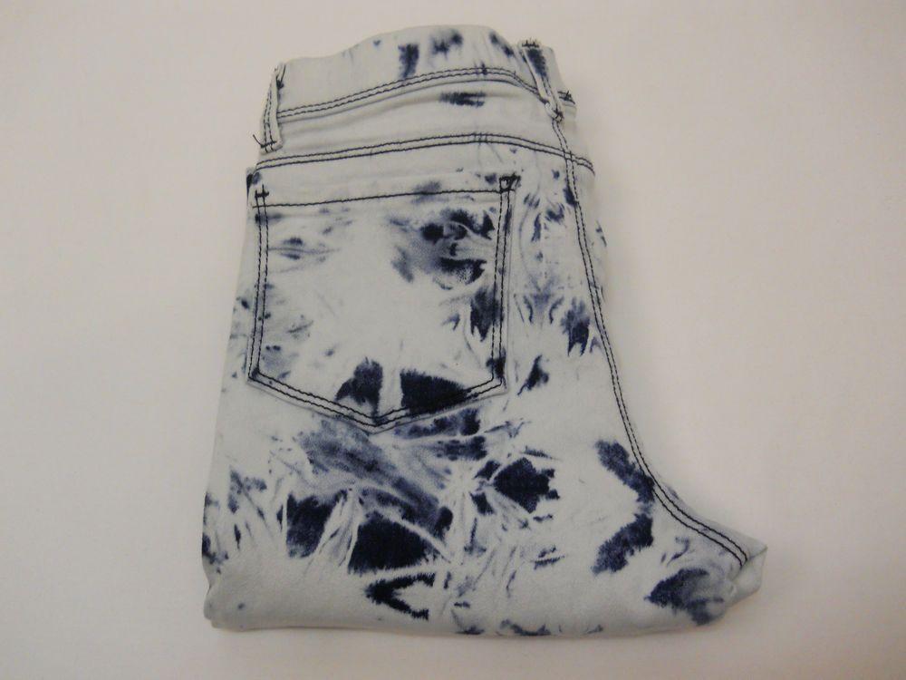 Jordache Girls Tie-Dye Wash Crop Jegging