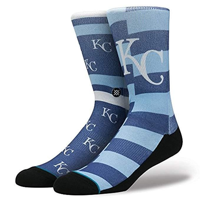2fffdaeff658e STANCE Men's Kansas City Royals Splatter Crew Blue Socks M (6-8.5) NEW # Stance #CrewHeight #kansascity #kansas #kansascitysocks #royals #royalssocks