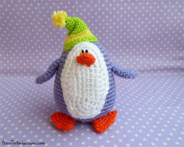 Pinguinhäkelntieranleitungkostenlos Häkeln Pinterest
