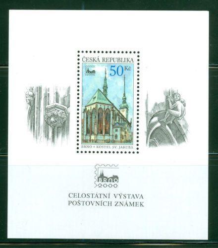 Czech Republic - 2000 Scott 3111 - Brno Phila Expo SS MNH