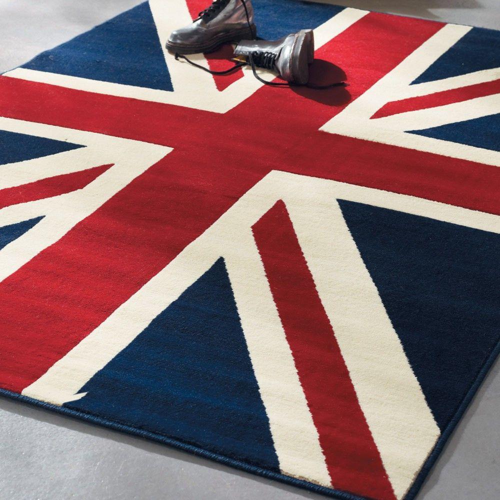 Linge Deco Union Jack Rug Union Jack Decor Union Jack