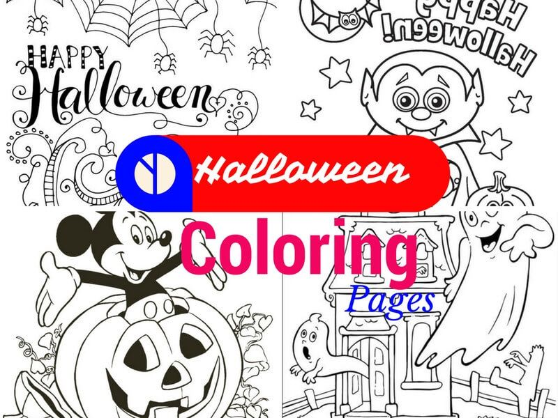 Halloween Coloring Pages For Kids- Free Printables
