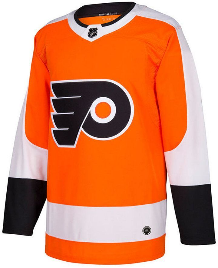 e94f1569e adidas Men s Philadelphia Flyers Authentic Pro Jersey - Orange 46 ...