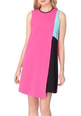 32ec805693805 Tahari ASL Colorblock Shift Dress | Products | Pink dress, Dresses ...