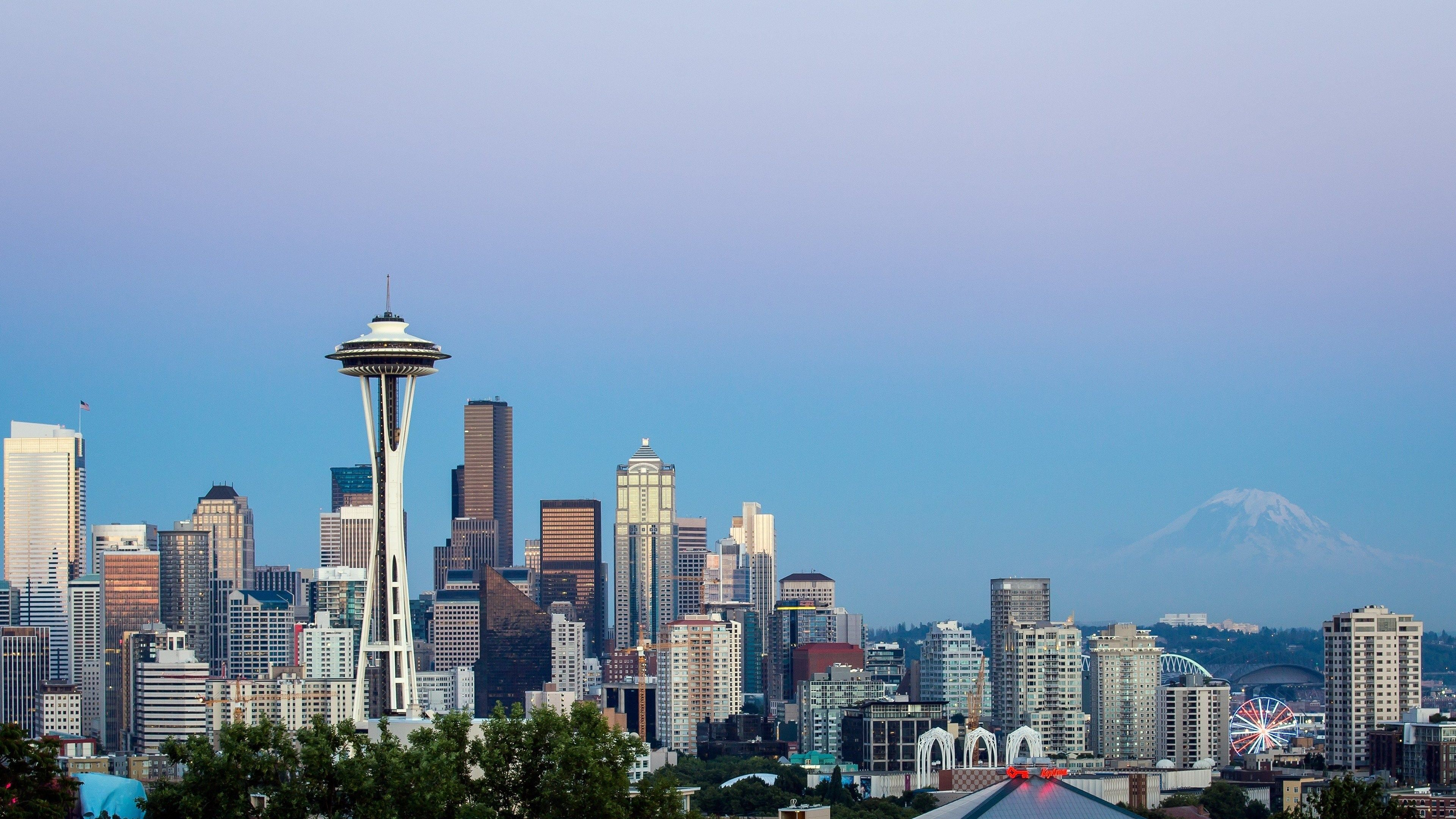 3840x2160 px High Resolution Wallpapers seattle wallpaper by Rollo