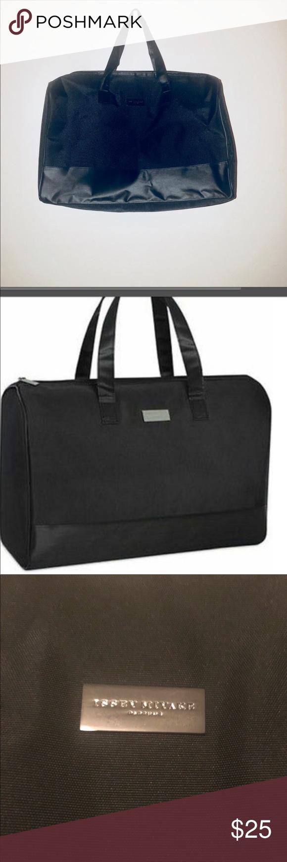 Issey Miyake Nuit D/'s Issey Parfums Duffle Bag Weekender Travel Gym Handbag