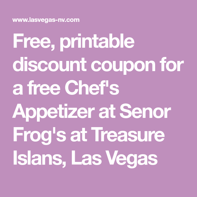 This is a photo of Astounding Printable Coupons Las Vegas