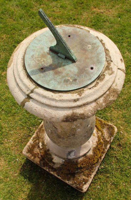 Antique Georgian Stone Sundial