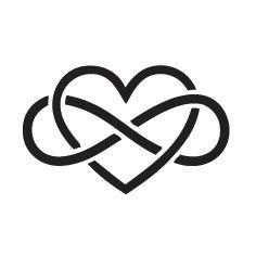Heart Infinity Symbol Tattoo Heart With Infinity Symbol Tattoo