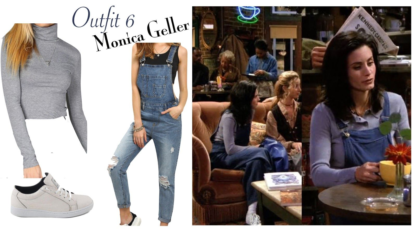 Friends Tv Show Halloween Costumes Ideas.F R I E N D S Inspired Fashion Monica Geller