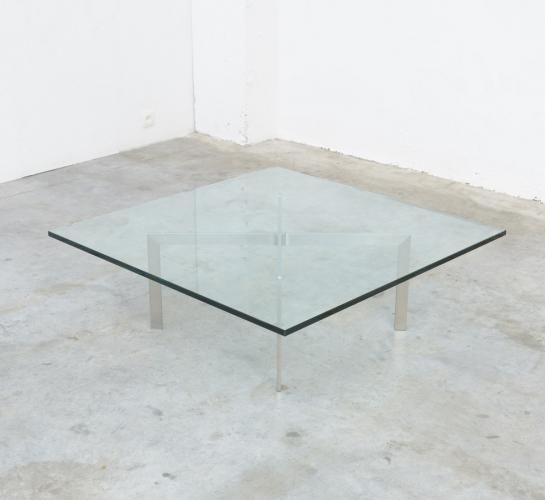 Tugendhat Coffee Table by L. Mies van der Rohe for Knoll for sale at Pamono