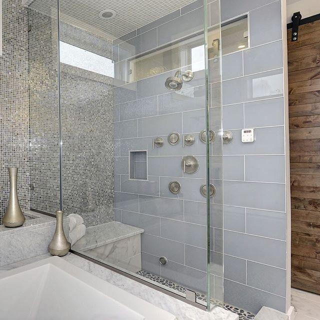 Inspiration Bathroom Design Glass Subway Tile The Tile Shop