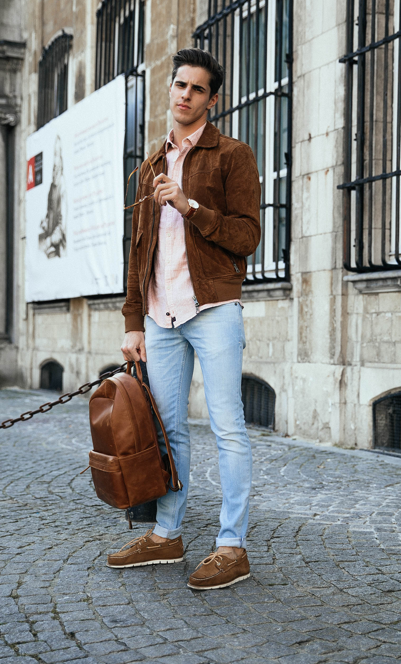 Dress up for Spring with Timberland boots  Mens street style