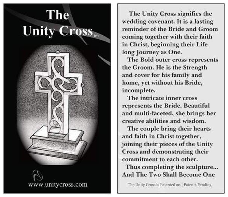 Unity Cross Unity Cross Wedding Ceremony Unity Candle Sand