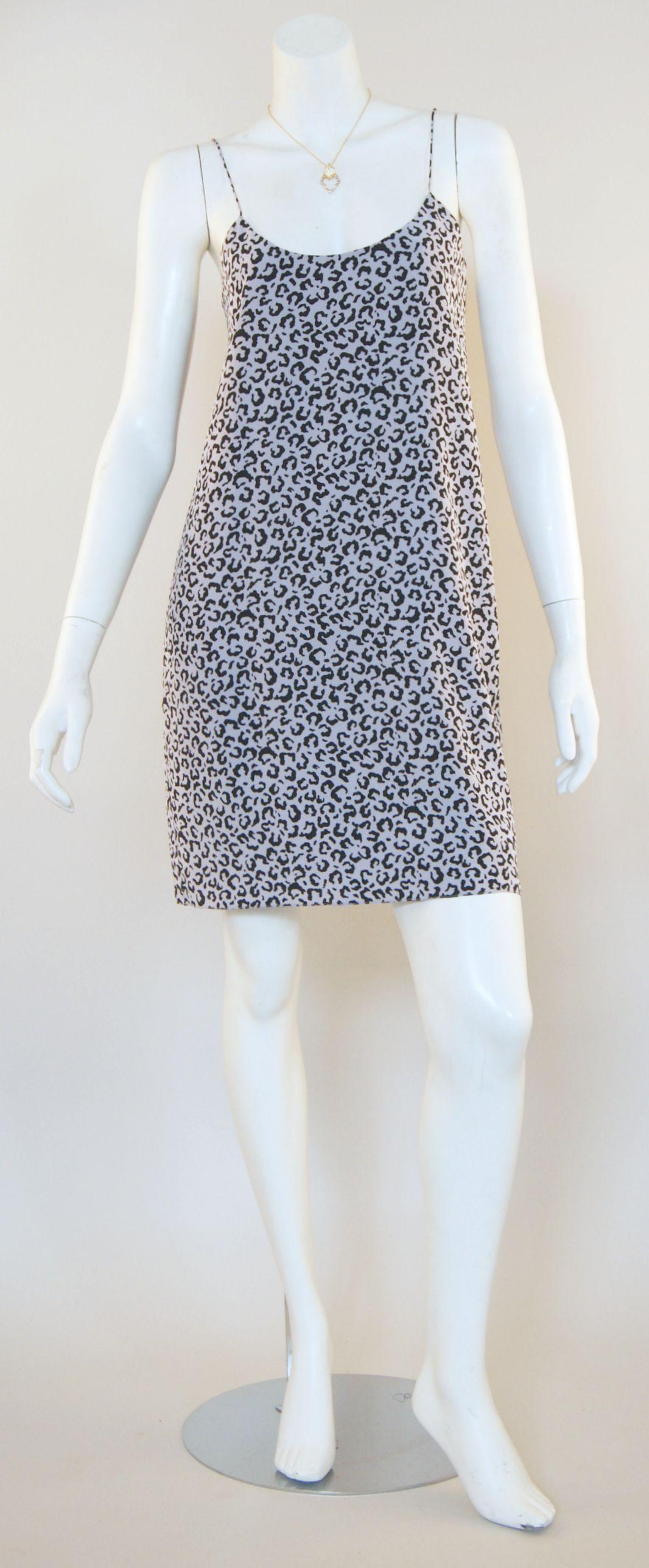 Tibi Leona Print Tank Dress & Alexis Bittar Necklace