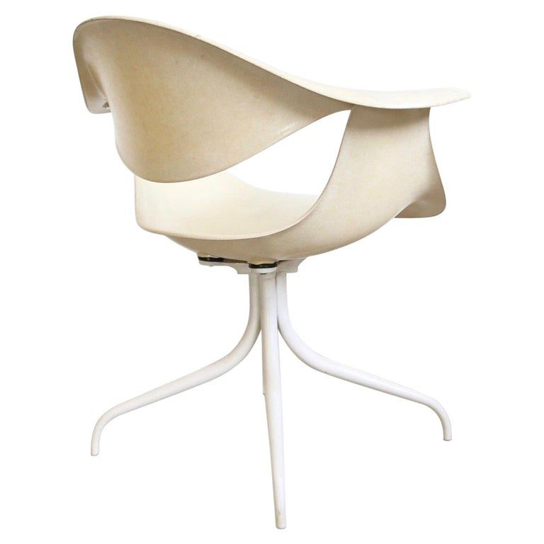 George Nelson Swag Chair For Herman Miller In 2020 Modern Armchair George Nelson Modern Bench