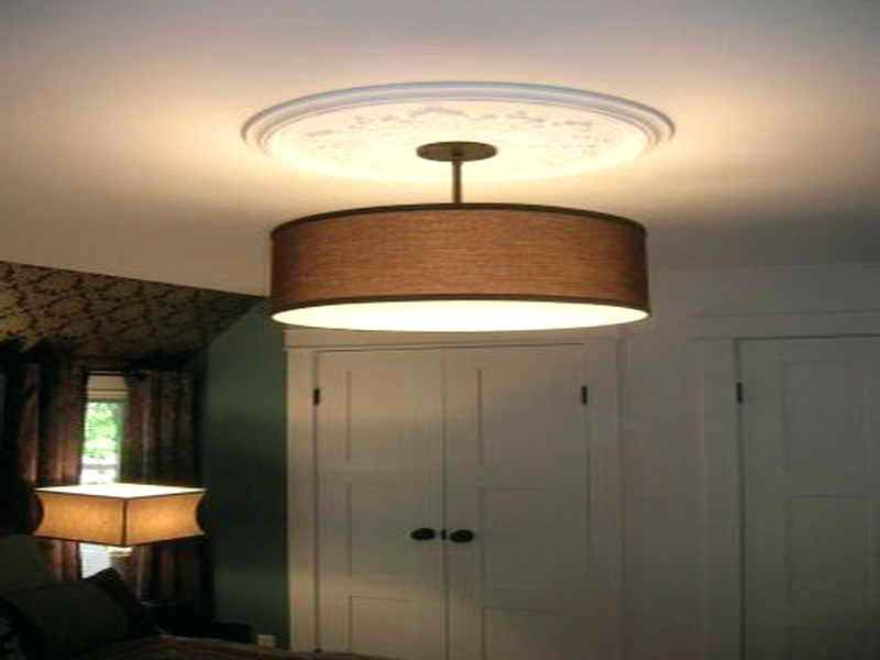 Image Result For Large Drum Lamp Shade Living Room Lampshadehomemade Flush Ceiling Lights Ceiling Lamp Shades Ceiling Lamps Living Room