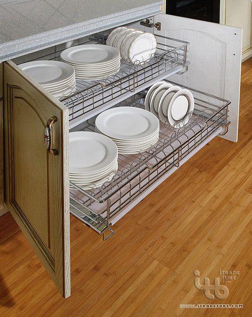 pull out dish rack kitchen wardrobe