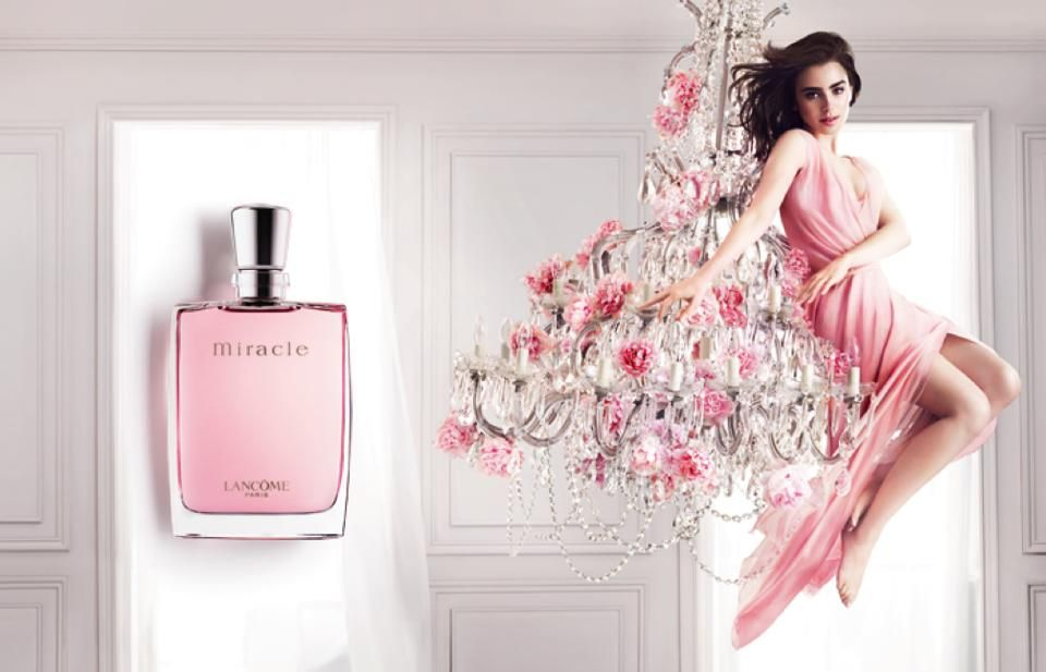 Image result for lancome miracle ads