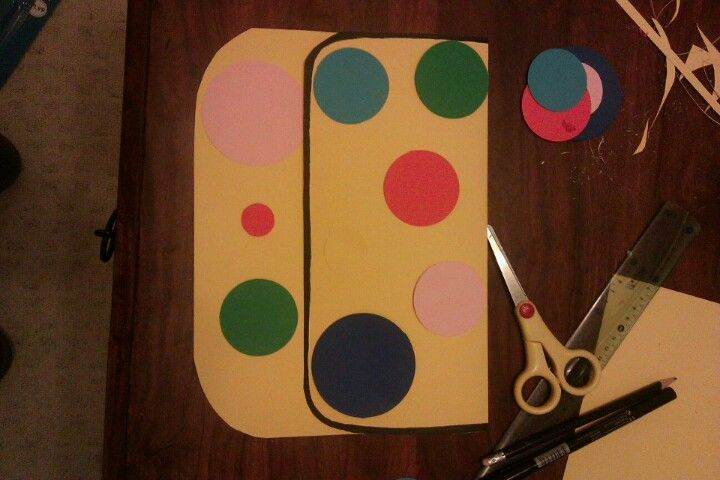 3rd Birthday Card For Chloe In The Shape Of Mr Tumbles Spotty Bag Birthday Crafts Birthday Cards Crafts