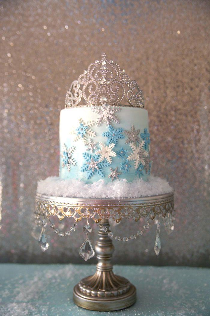 Frozen Wonderland Birthday Party Via Karas Party Ideas The Cake
