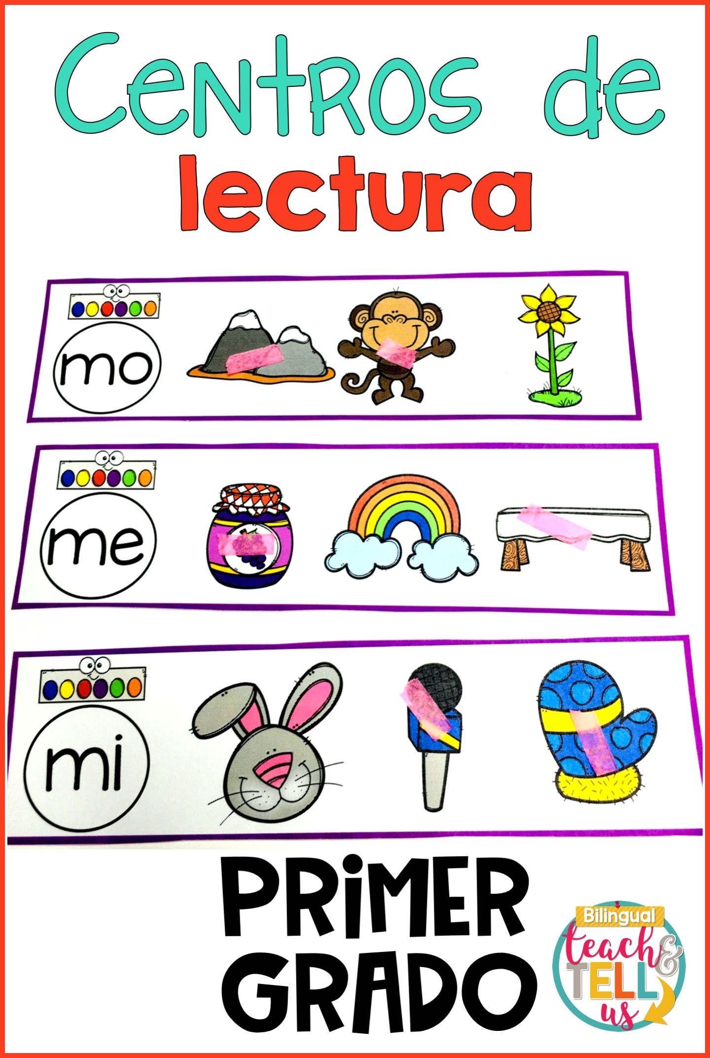 First Grade Literacy Centers Spanish August Centros De