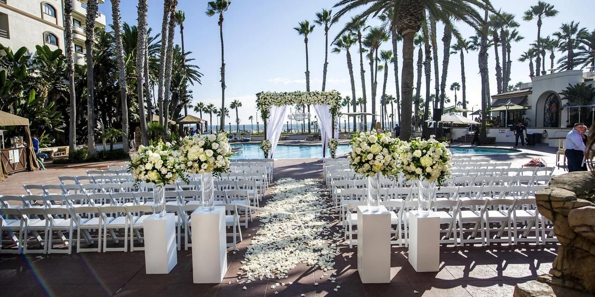 Breezy Cool And Beachy Ceremony