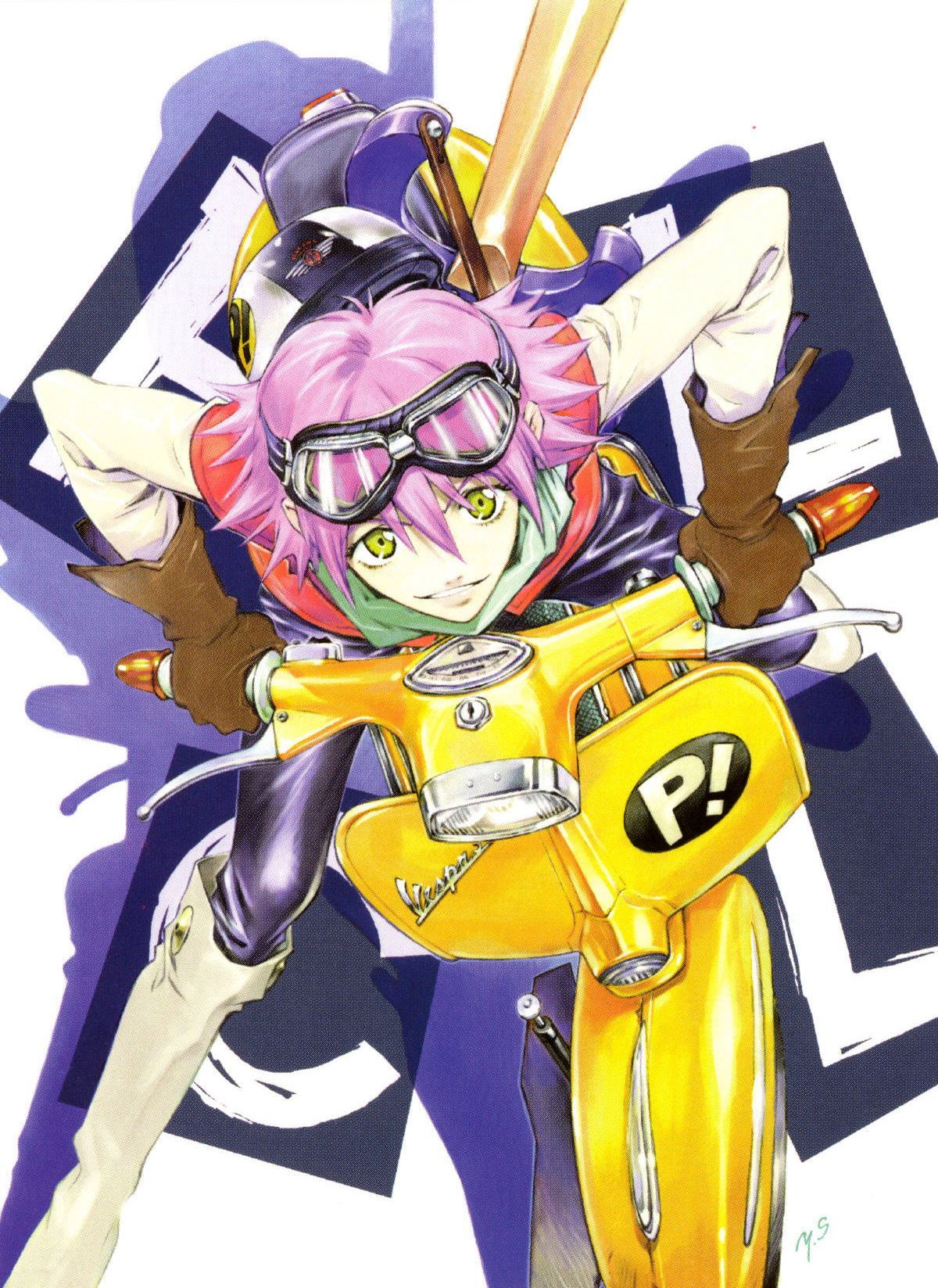 Pin by Lana Scan on Anime Anime, Flcl, Flcl haruko