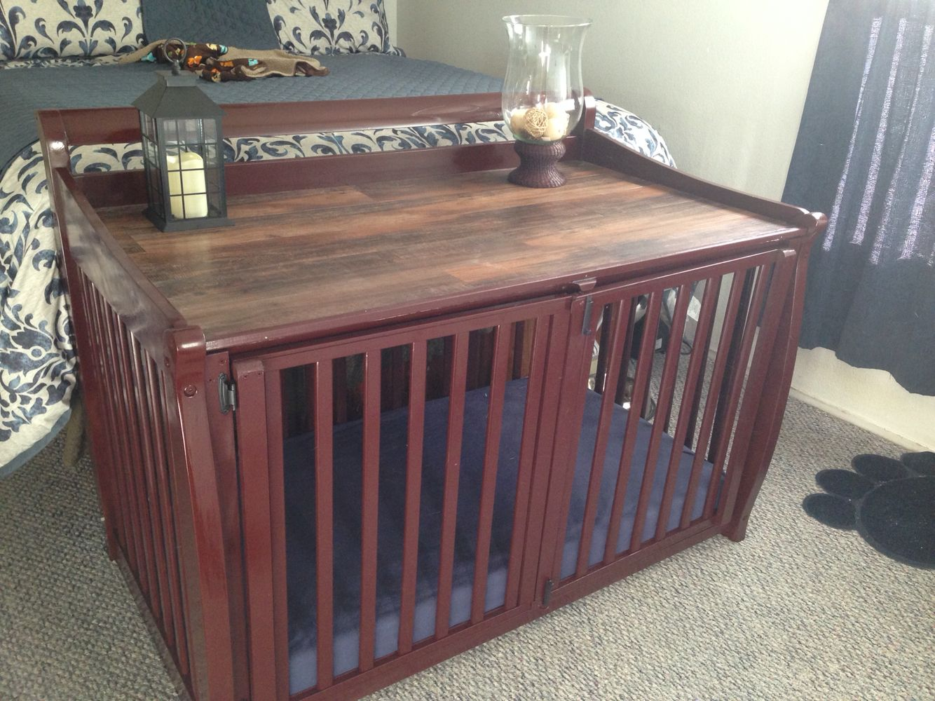 Turning A Crib Into A Dog Crate Diesel And Vise ケージ