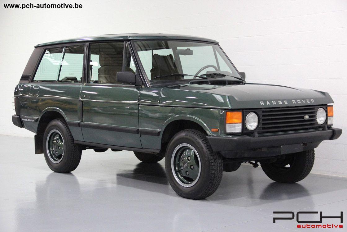 1993 land rover range rover classic 3 9 efi v8 3 doors. Black Bedroom Furniture Sets. Home Design Ideas