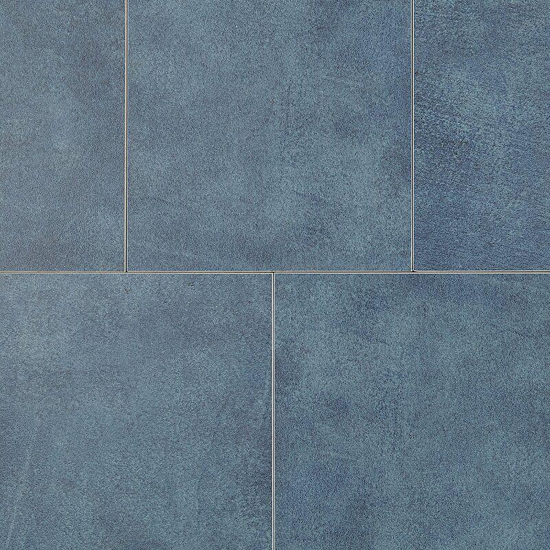 Hampstead 7 X 7 Porcelain Field Tile In 2020 Dark Blue Tile Blue Tile Floor Crockery Unit