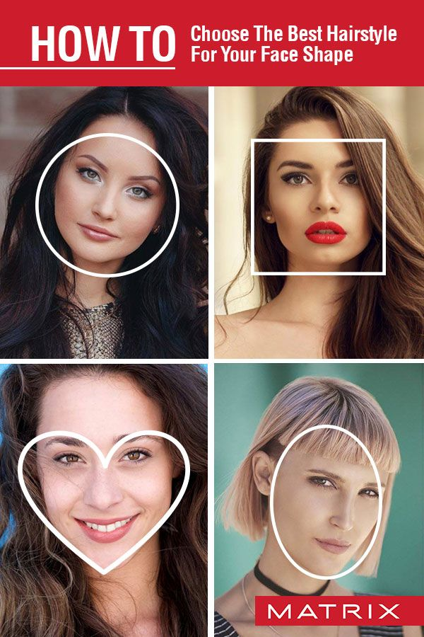 How To Choose The Best Hairstyle For Your Face Shape Face Shape Hairstyles Face Shapes Hair Styles