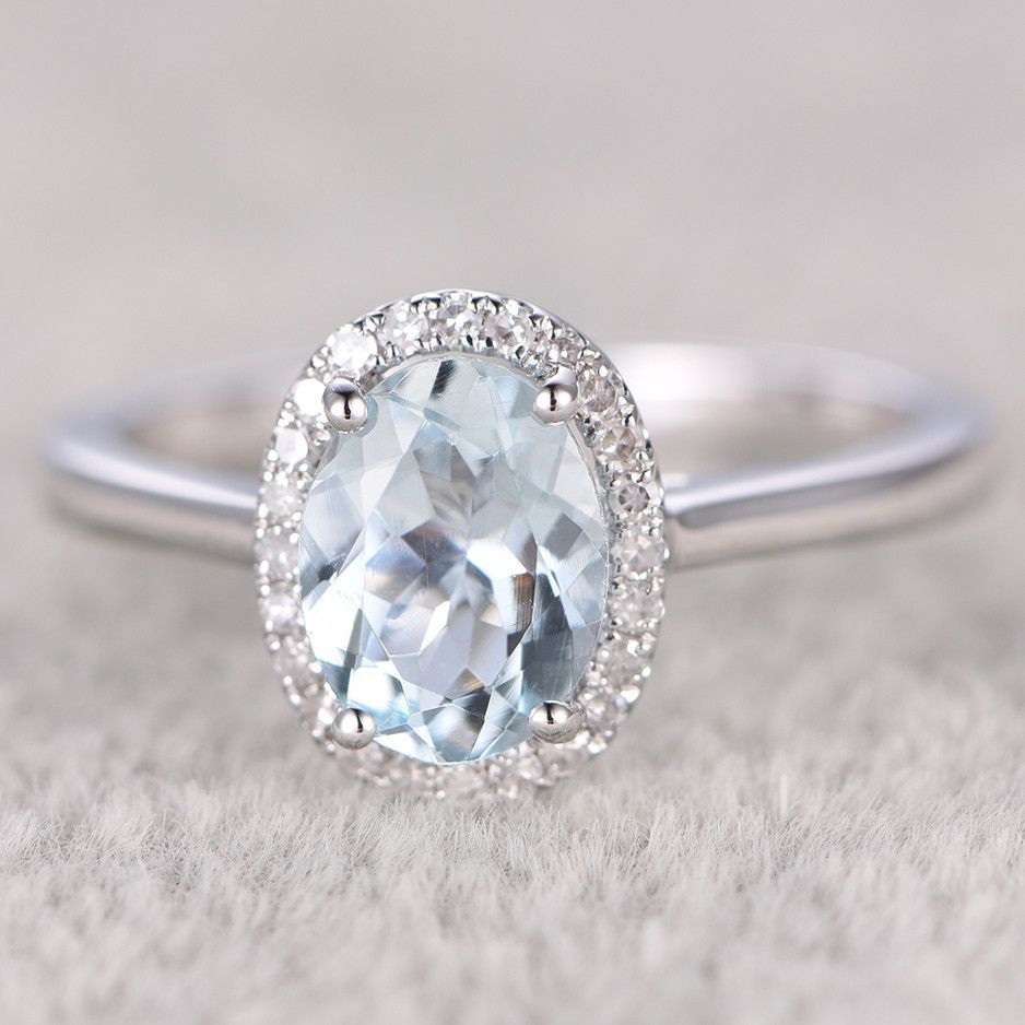 in natural rings solid topaz trillion engagement chupi gold one ring aquamarine a products white
