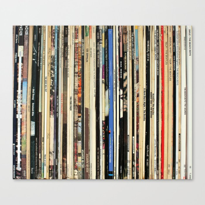 Buy Classic Rock Vinyl Records Canvas Print By Nmtdot Worldwide Shipping Available At Society6 Com Just One Of Millions Of Vinyl Vinyl Records Throw Blanket