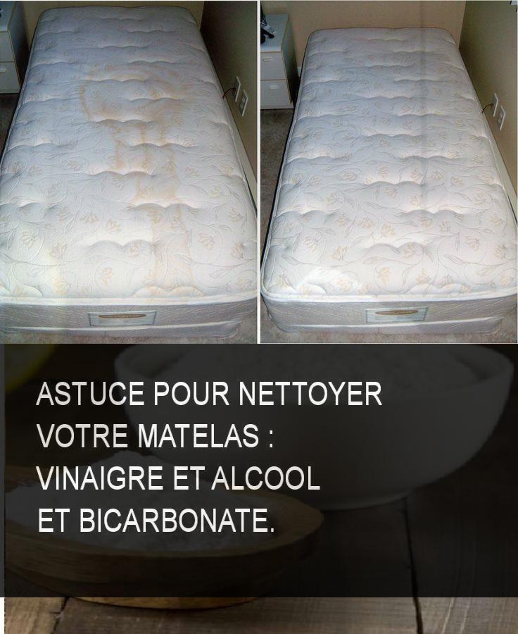 astuce pour nettoyer votre matelas vinaigre et alcool et. Black Bedroom Furniture Sets. Home Design Ideas