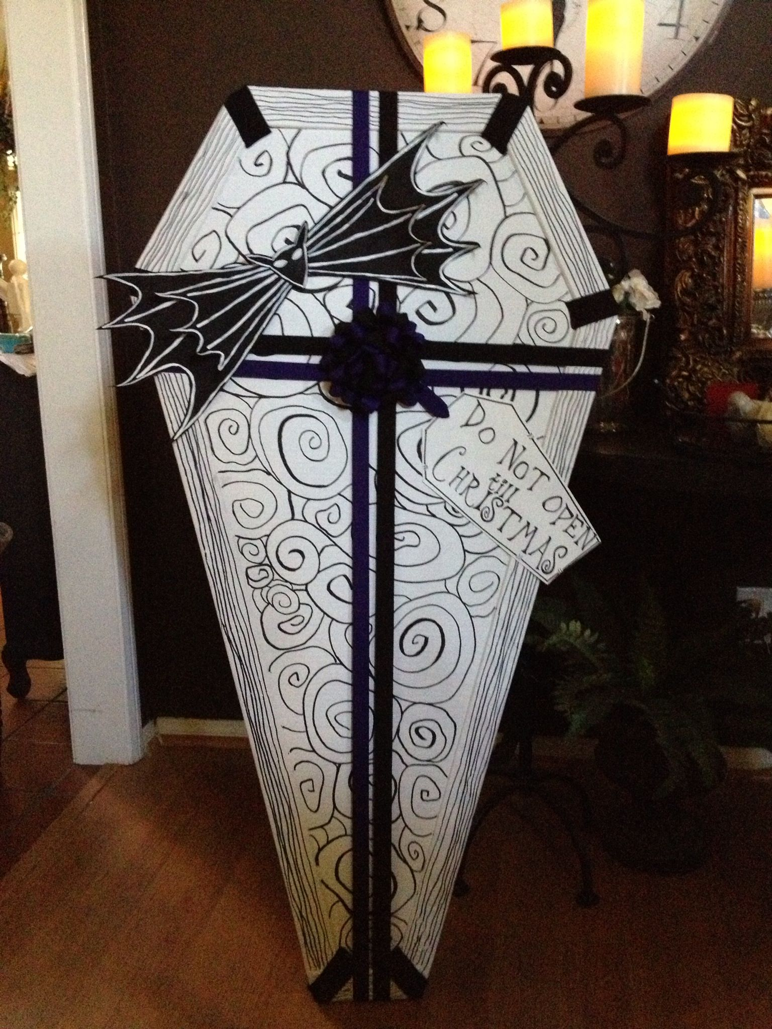 nightmare before christmas coffin