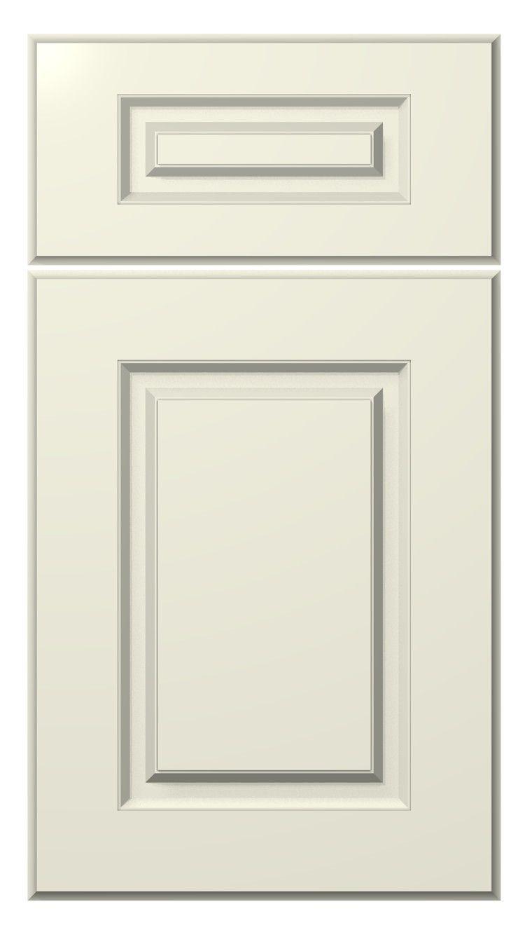 painted door :: alpine door style :: antique white #kitchen #cabinets # - Painted Door :: Alpine Door Style :: Antique White #kitchen