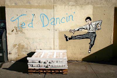 Ted Dancin' by Banksy