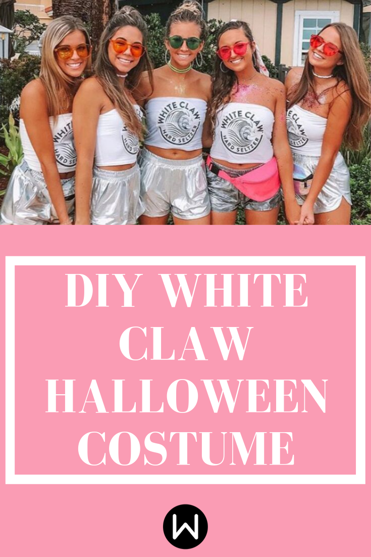 Show Off Your Love of the Claw in This White Claw