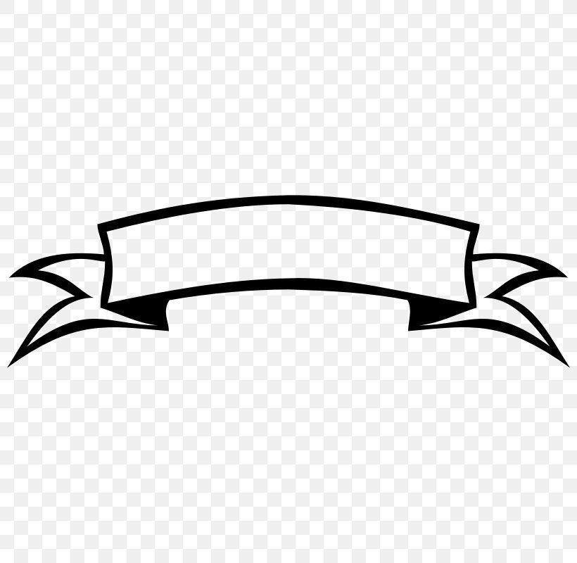Hitam Dan Putih Desain Banner Desain Logo