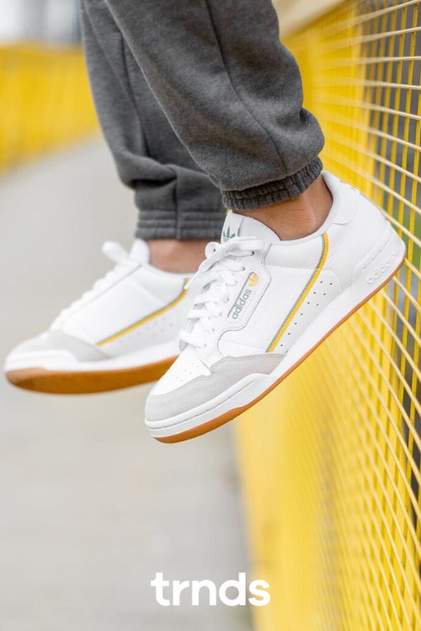 ciclo Iniciar sesión Faial  Adidas Continental 80 White/Yellow for Men | Reebok classic white, Reebok  classic green, Sneakers