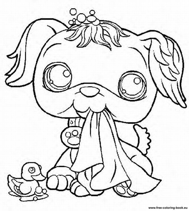 Coloring pages Littlest Pet Shop - Page 1 - Printable ...