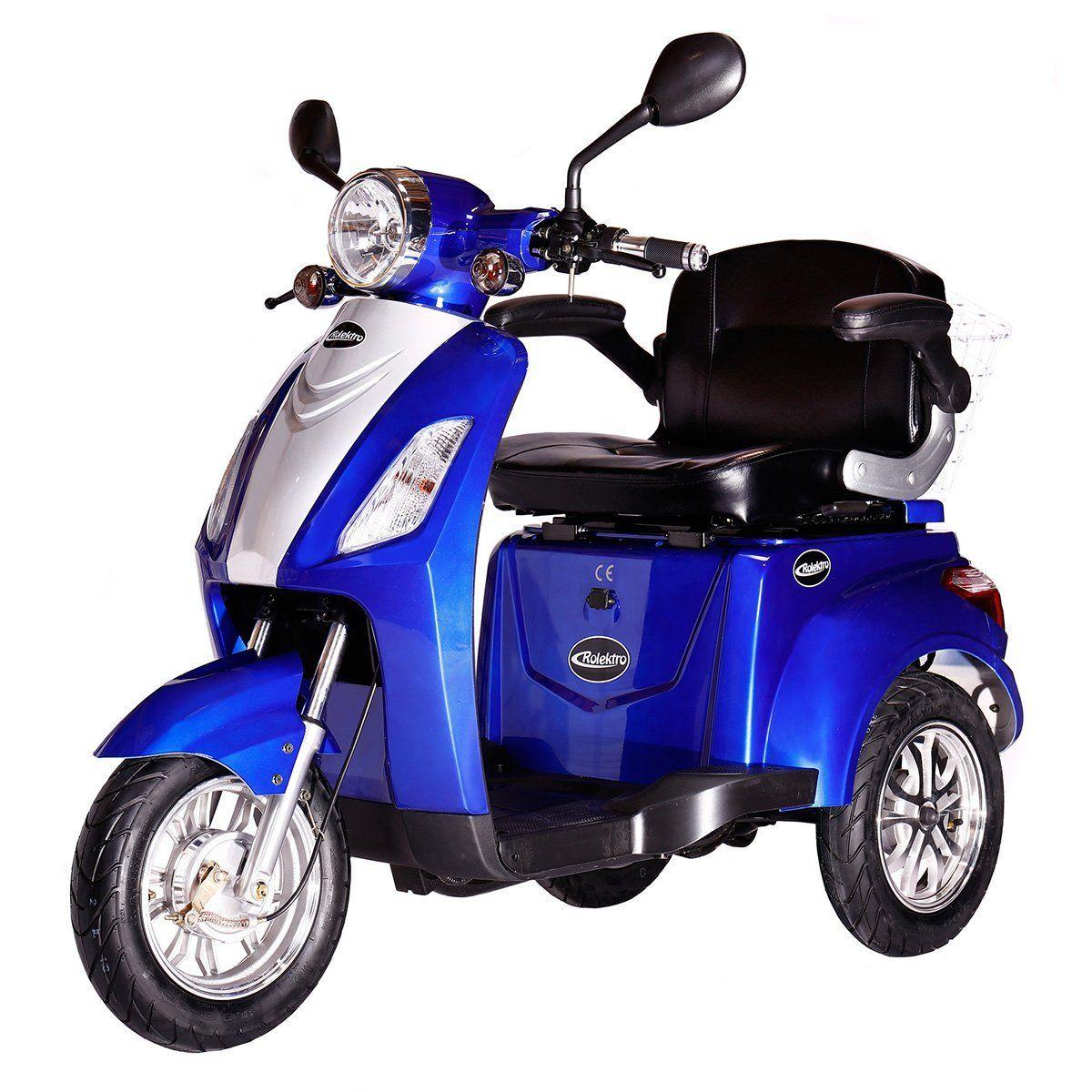 Rolektro Electric Trike 25 Eu Legal Electric Scooter E Scooter 600 W Motor 50 Km 25 Km H Hoschst Speed Eroller Elect Elektroroller Elektrisches Dreirad Dreirad