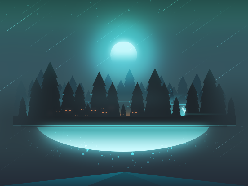 Sky World – Mist Forest
