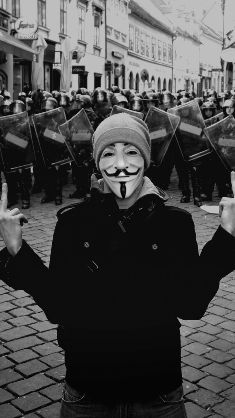 Download Anonymous Picture for Iphone. in 2020
